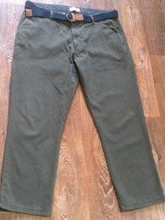 Teilor плотные котон штаны + ремень Gant