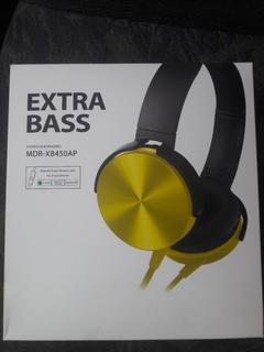 Нові навушники EXTRA BASS MDR-XB450AP в горному стані  гарно грають Для ігор супер річ.