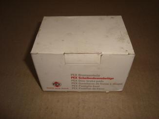 PEX 7.068 Комплект тормозных колодок ALFA ROMEO, AUDI, FIAT, LANCIA, VOLKSWAGEN.