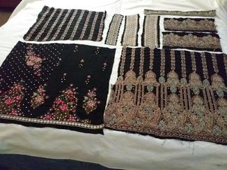 Восточные вышивки