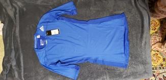 Термобелье adidas футболка M (синяя)