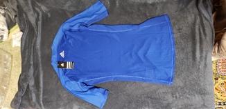 Термобелье adidas футболка S (синяя)