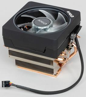 Вентилятор, кулер, cистема охлаждения AMD Wraith Prism медь sAM2, AM2 +, AM3, AM3 +, AM4