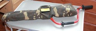 Ледобур 130 мм с запасными ножами.