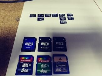 Лот карт памяти Micro sd и SD