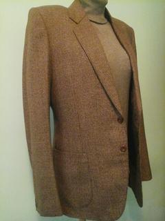 Шерстяной мужской пиджак, демисезон, р.М, новый
