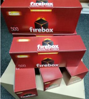 Гильзы Firebox (500 шт) под табак, для изготовления сигарет