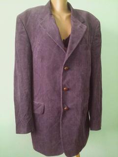 Вельветовый мужской пиджак, р.L (см.замеры!)