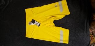 Термобелье adidas велосипедки L (желтые)