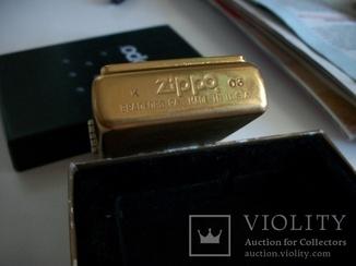зажигалкa zippo  2003-год. made in usa. bradford [оригинал-комплект]