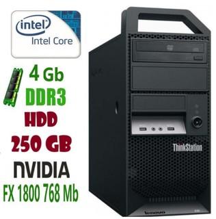E30 Рабочая станция Lenovo ThinkStation i3-2120/4Gb/250Gb/Nvidia Quadro fx1800 768Mb
