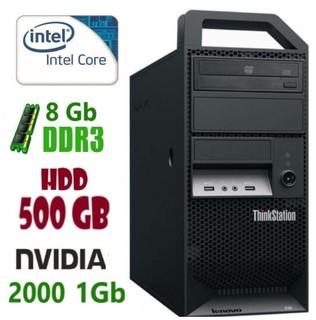 E30 Рабочая станция Lenovo ThinkStation i3-2120/8Gb/500Gb/Nvidia Quadro 2000 1Gb