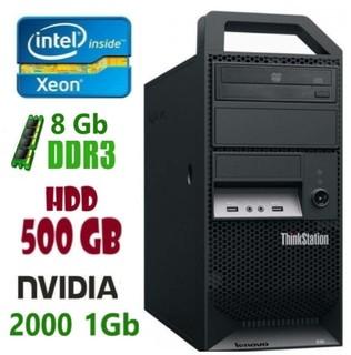 E30 Рабочая станция Lenovo ThinkStation E3-1245/8Gb/500Gb/Nvidia Quadro 2000 1Gb