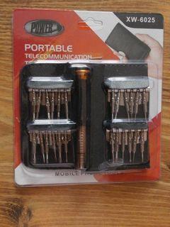 Набор отверток для мобильных телефонов Power XW-6025 25 in 1 ручка с насадками чехол