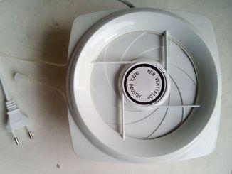 Вентилятор на вытяжку с шнуром 100мм