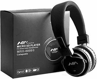 Наушники беспроводные NIA MRH-8809S с MP3/MicroSD/FM