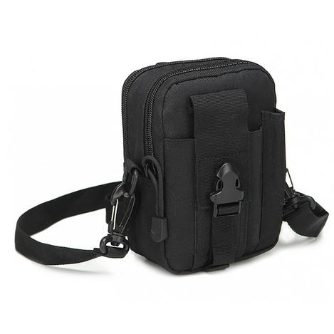 4fda517ebccb Тактическая универсальная (поясная) сумка - подсумок с ремнём Mini warrior  с системой M.O.L.L.E (с101 черная)Ставок: 0185грн ~7,24usdПриблизительное  ...