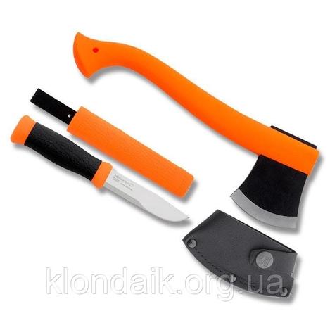 Набор Morakniv Outdoor Kit MG, нож Morakniv 2000 + топор (1-2001)