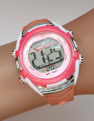 Lsp74803w спортивные часы из сша Wr100ft секундомер будильник